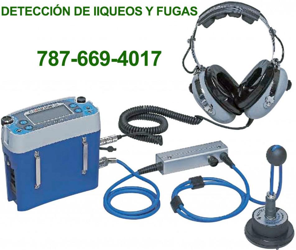 Plomeros PR. Detección de Fugas y Filtraciones