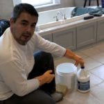 استخدام المياه في تنظيف الارضيات