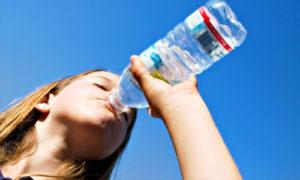 استخدام المياه في الشرب