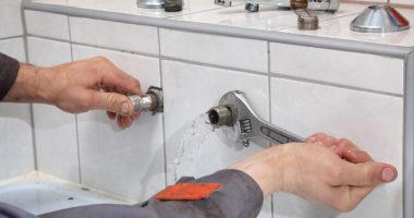 اصلاح تسرب المياه